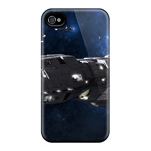 Pretty EYx2258buNk Iphone 4/4s Cases Covers/ Pegasus Battlestar Galactica Series High Quality Cases