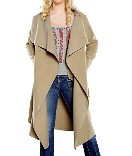 Tempt Womens Trench Cardigan Outerwear