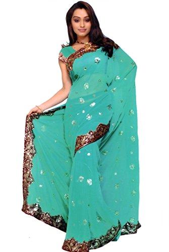 Sari Fabric Belly Dance Dress - 8
