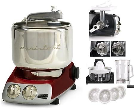 Ankarsrum Original AKM6290R 930900102 - Robot de cocina (incluye 7 accesorios), color rojo: Amazon.es: Hogar