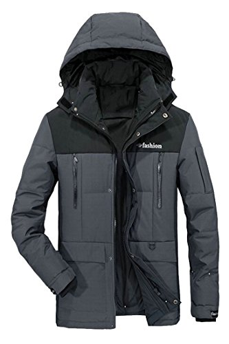 Hoodies UK Pockets 2 Hot Coat With Down Multi Men's Windbreaker Brd Winter Thicken Jacket Tgw1Rgzqx