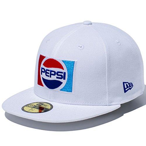 ニューエラ NEW ERA 帽子 5950 PEPSI 1987 キャップ ホワイト 7 1/2