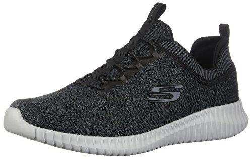 Skechers Sport Men's Elite Flex-Hartnell Fashion Sneaker,Black/Gray,11 M US