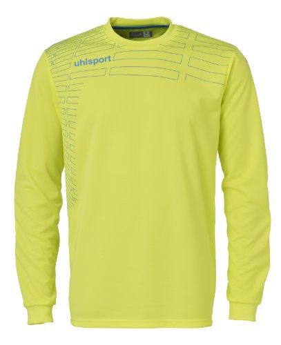 UPC 802634182233, Uhlsport Match GK Long Sleeve Shirt, Fluro Yellow/Cyan, X-Large