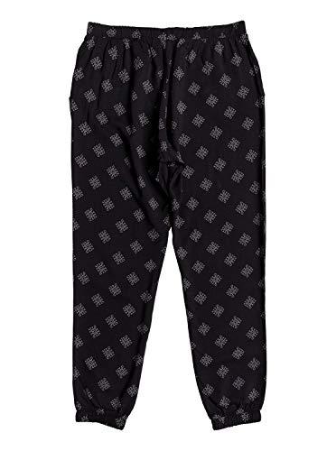 Roxy Easy Erjx603111 Peasy Léger Pearly Pantalon Anthracite Pour Tiles Femme Noir rrq5dFYx