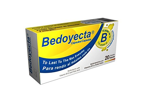 Amazon.com: Bedoyecta Multi-Vitamin Capsules, 20 Count: Health & Personal Care