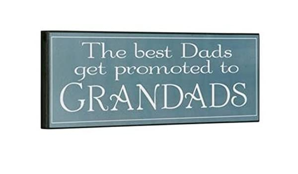 Cartel Madera Vintage The Best Dads get promoted to ...