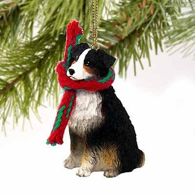 - Australian Shepherd Tiny One Christmas Ornament Tricolor