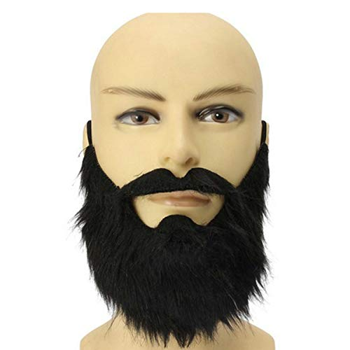 Halloween Funny Fake Bread Man Mustache Custume Party Favors Fake Mustache Whisker Festivel Supplies -