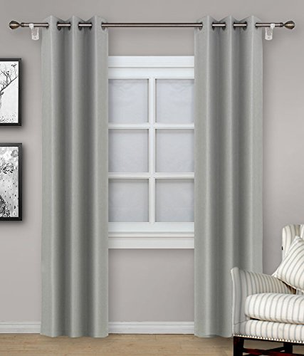 Allbright Thermal Insulated Blackout Panel Curtains with Wat