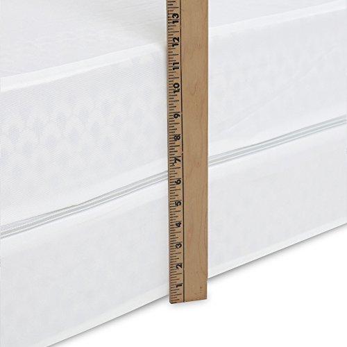 Sleep Calm Easy Zip Expandable Mattress Encasement with Stai