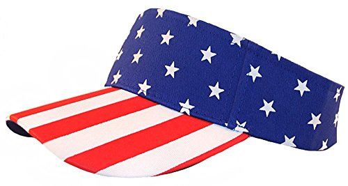 07ee96ba945 Galleon - Enimay Sports Tennis Golf Sun Visor Hats Adjustable Velcro Plain  Bright Colors USA