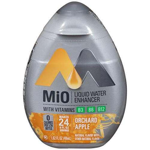 - MiO Liquid Water Enhancer, Orchard Apple, 1.62 Ounce (Packaging May Vary)