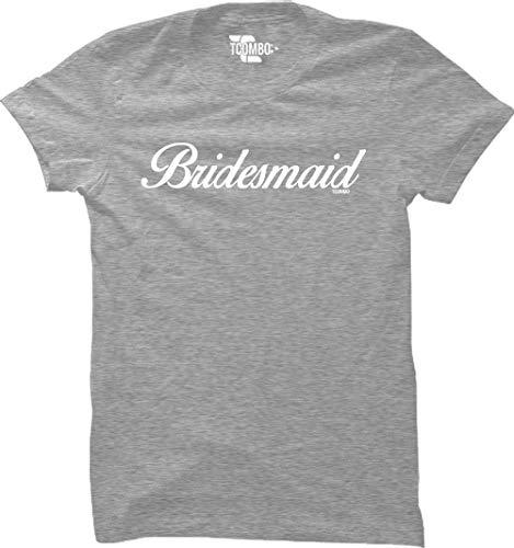 Bridesmaid Light T-shirt Womens (Bridesmaid Women's T-Shirt (Light Gray, Medium))
