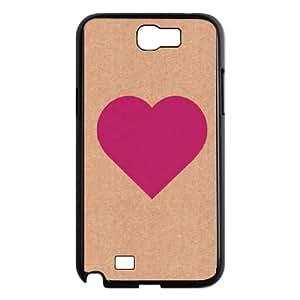 Samsung Galaxy N2 7100 Cell Phone Case Black_I Love U FY1450708