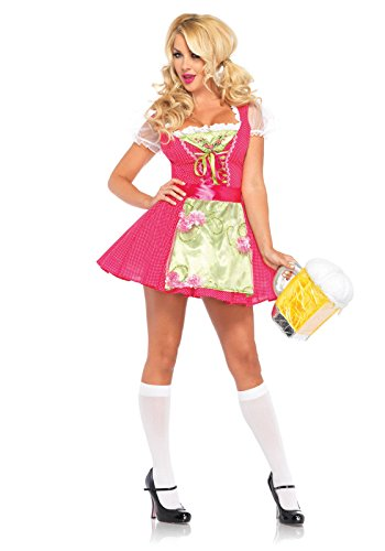 Leg Avenue Womens Beer Garden Gretel Adult Costume (Large) (Adult Gretel Costume)