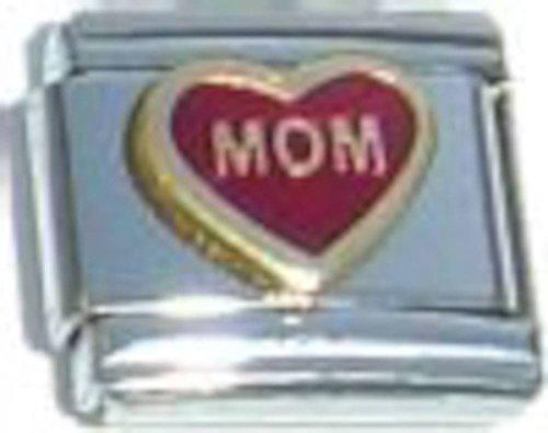 Mom Red Italian Charm