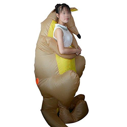 Adult Inflatable Kangaroo Fancy Dress Halloween Cosplay Party Suit