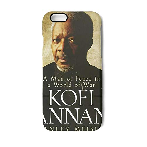 Phone Case for iPhone 6 Plus/iPhone 6s Plus Kofi_Champion_of_Annan_Peace Fashion Non-Slip Matte 3D Printed PC TPU Shockproof Anti-Fingerprint Back (Winner Front Lip)