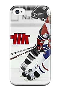 First-class Case Cover For Iphone 4/4s Dual Protection Cover Montreal Canadiens (87)