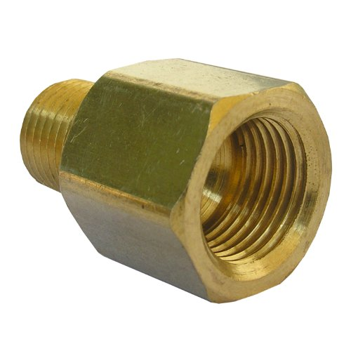 LASCO 17-6785 3/8-Inch Female Flare by 1/4-Inch Male Pipe Thread Brass Adapter