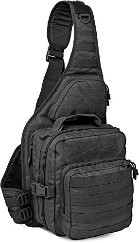 Red Rock Outdoor Gear RED80139BLK-BRK Recon Sling Bag black by Red Rock Outdoor Gear