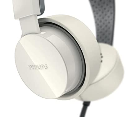 PHILIPS Cascos CitiScape SHIBUYA - blanco + Adaptador auriculares 3,5 mm / 6,35 mm
