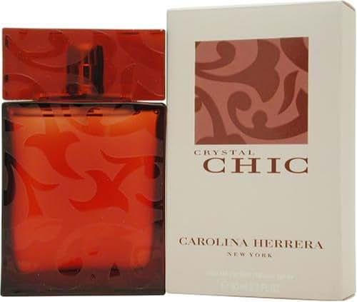 Chic Crystal By Carolina Herrera For Women. Eau De Parfum Spray 2.7 Ounces
