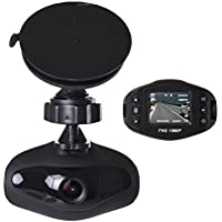 Dealcoo Dash Cam , Dashboard Camera Recorder with Sony Exmor Sensor, 1.5 LCD, 1080P FHD, 4-Lane Wide-Angle View Lens, Built-In WiFi, G-Sensor, WDR, Loop Recording, Night Mode, Parking Montior