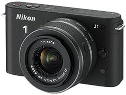 Nikon 1 J1 Systemkamera mit Objektiv