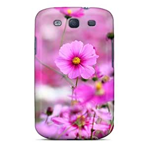 Ideal ArtCart Case Cover For Galaxy S3(field Of Pink Flowers), Protective Stylish Case