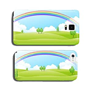 Prairie landscape background cell phone cover case Samsung S5