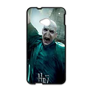 HTC One M7 Cell Phone Case Black Harry Potter Lord Voldemort Fashion Phone Case Cover Hard XPDSUNTR29646