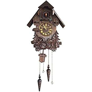 Farmall times barn shaped cuckoo clock by the bradford exchange home kitchen - Cuckoo bird clock sound ...