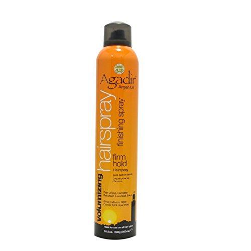 Agadir Argan Oil Volumizing Hair Spray Firm Hold, 10.5 Ounce