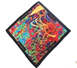 Reggae Silk Pocket Square