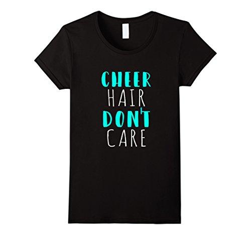 Womens Funny Cute Cheer Shirt for Cheerleader Cheer Team Mom Gift Small Black (Cheer Bow Ideas)