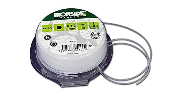 Ironside M261646 - Hilo Redondo desbrozadora 1 3 mm x 30 m Color ...