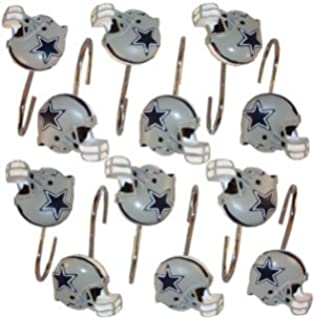 The Northwest Company Green Bay Packers Bathroom Shower Curtain Hooks Rings Set 79925Packers