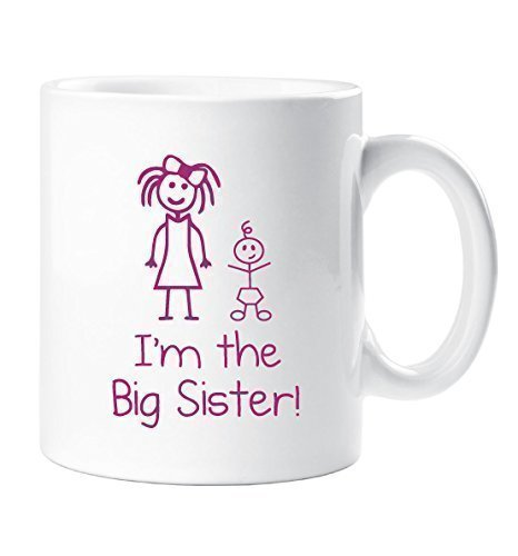 I'm The Big Sister 10oz Mug Gift 60 Second Makeover Limited