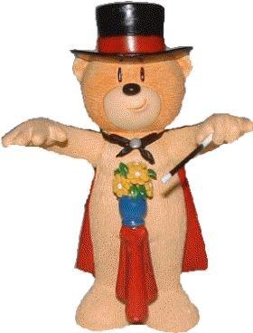 Mr. Magica Magician Bad Taste Bear Figurine