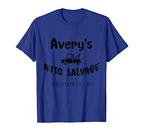 (Avery's Auto Salvage T shirt)