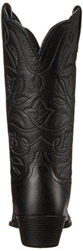 Western Black Western R Cowboy Heritage Women's Boot Tan Deer Toe Ariat w7qUXn8