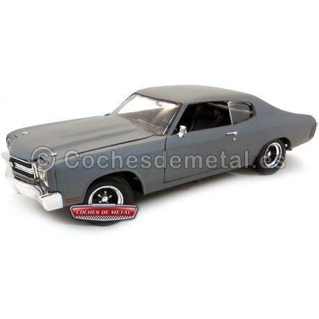 1970 Chevy Chevelle SS 454 Primered Grey 1/18 Fast & Furious 4