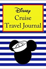 Disney Cruise Travel Journal Paperback