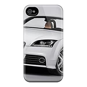 Anti-scratch And Shatterproof Audi Tts Roadster 2 Phone Case For Iphone 4/4s/ High Quality Tpu Case