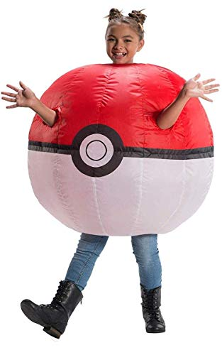 Rubie's Pokemon Child's Inflatable Poke Ball Costume