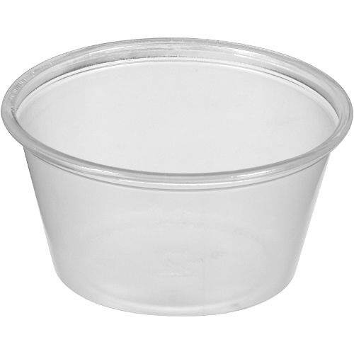 Bakers & Chefs 2 oz Restaurant Portion Cups, Sauces, Dressing, Condiments - 2500 Count (And Chef Cups Bakers)