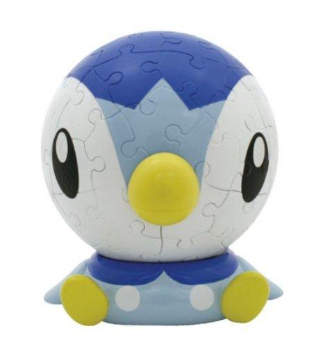 3D-sphere-puzzle-Big-face-Pokemon-60-Large-piece-Piplup-diameter-about-102cm-japan-import