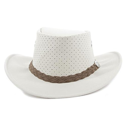 cf6f89331e8 Amazon.com   Aussie Chiller Outback Bushie Chiller Golf Hat - Pearl White -  Medium   Everything Else